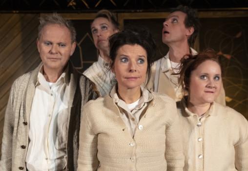 Porträtt på Ensemblen: Yngve Sundén, Caroline Rendahl, Mala Kyndel, Nils Granberg, Jon Karlsson