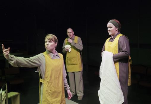 Porträtt på Eleanora DeLoughery Nordin, Joel Torstensson, Mala Kyndel. Foto Per Eriksson