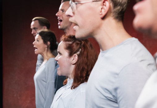 Porträtt på Ensemblen. Foto Per Eriksson