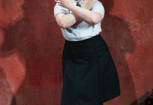 Porträtt på Mala Kyndel. Foto Per Eriksson