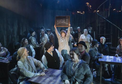 Porträtt på Sweeney Todd - Foto Per Eriksson - Mala Kyndel och körensemblen