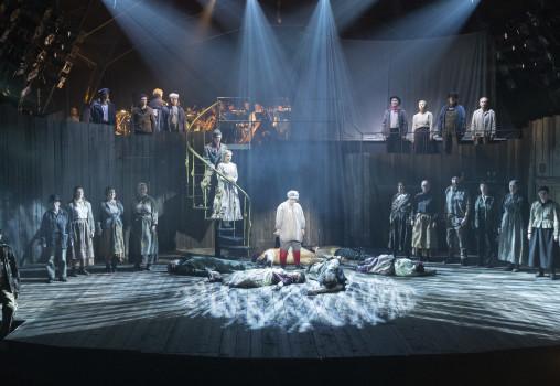 Porträtt på Sweeney Todd - Foto Per Eriksson - Ensemblen