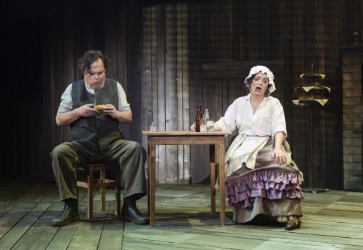 Porträtt på Sweeney Todd - Foto Per Eriksson - Susanne Hellström och Jan Åström