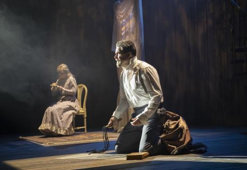 Porträtt på Sweeney Todd - Foto Per Eriksson - Johan Wikström och Kim Bergkvist