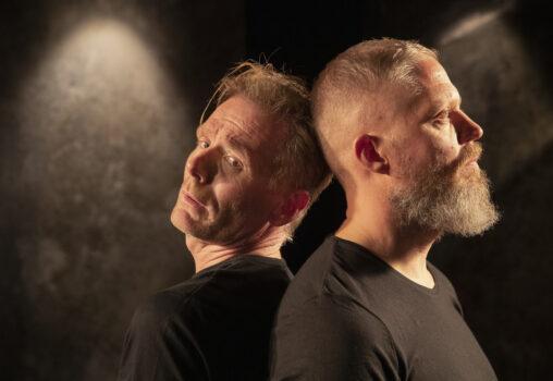Porträtt på VASA - Foto Per Eriksson. På bilden Patrik Pettersson och Kaj Ahlgren