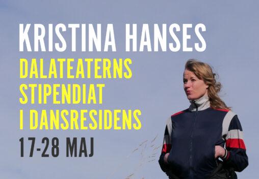 Kristina Hanses blir Dalateaterns stipendiat!